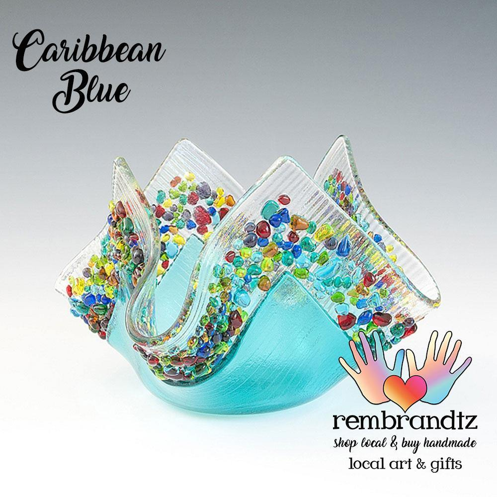 Caribbean Blue Candle Light - Rembrandtz
