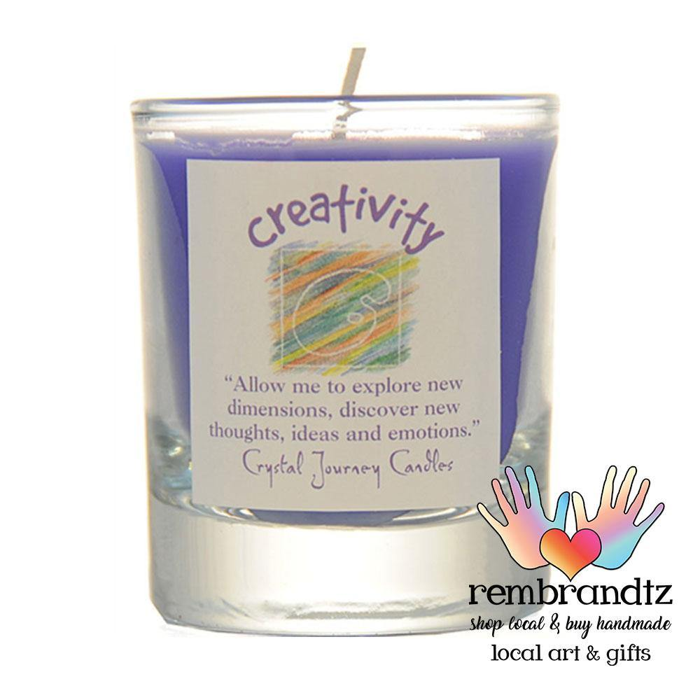 Creativity Reiki Soy Candle - Rembrandtz