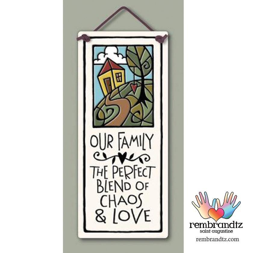 Chaos and Love Art Tile - Rembrandtz