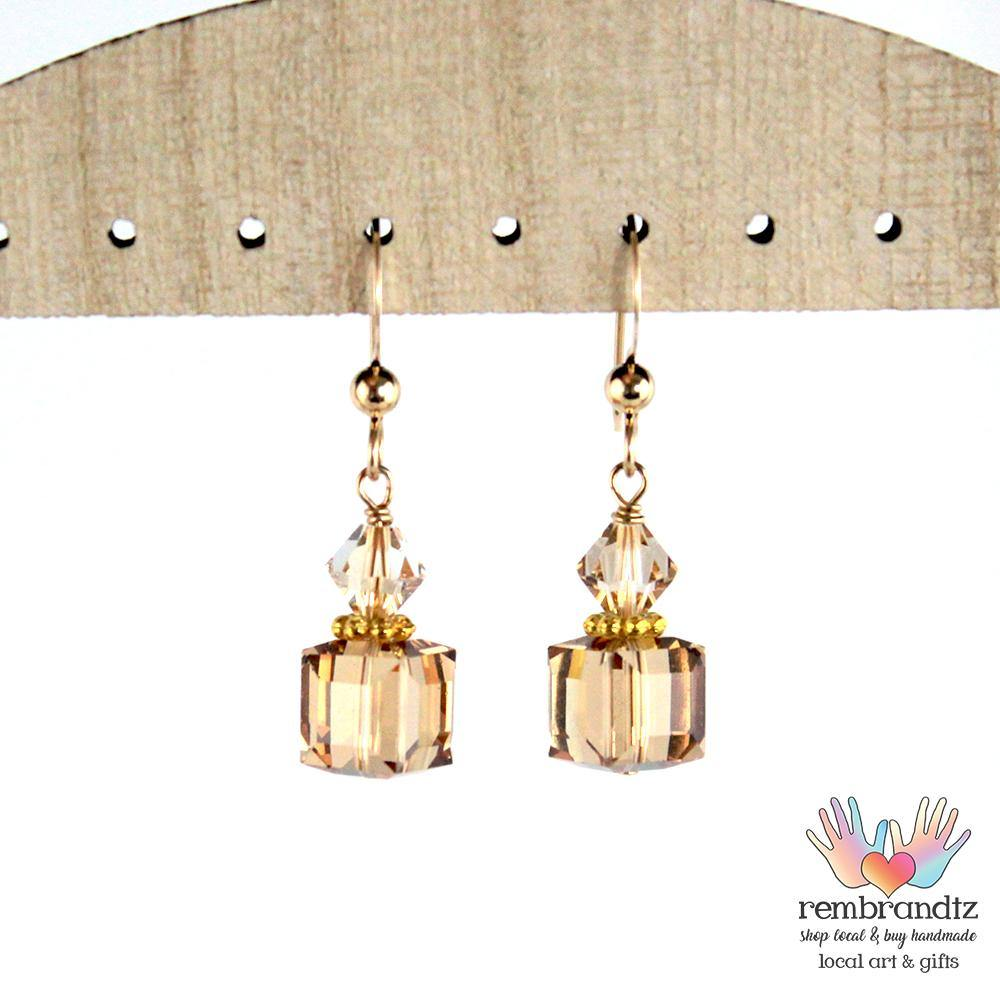 Earrings Gold Rush - Rembrandtz