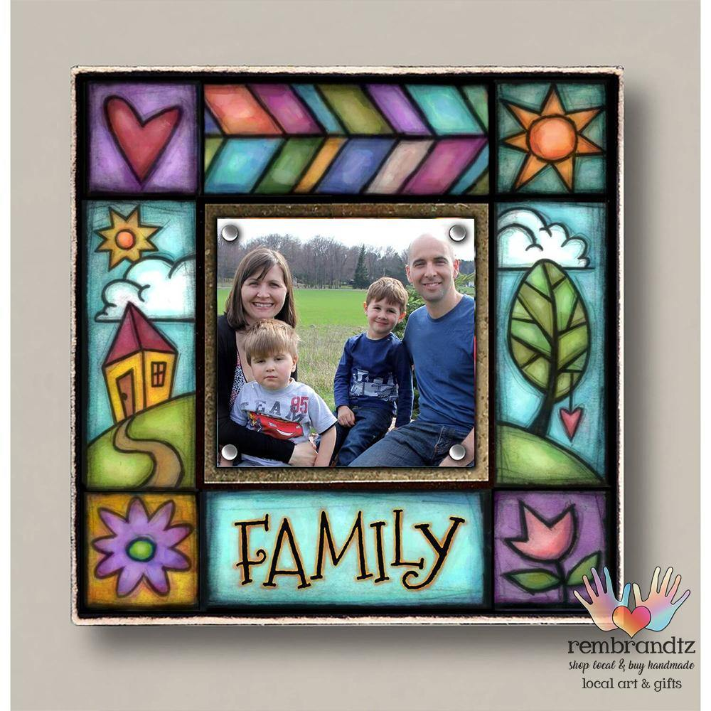 Family Small Archival Magnetic Picture Frame - Rembrandtz