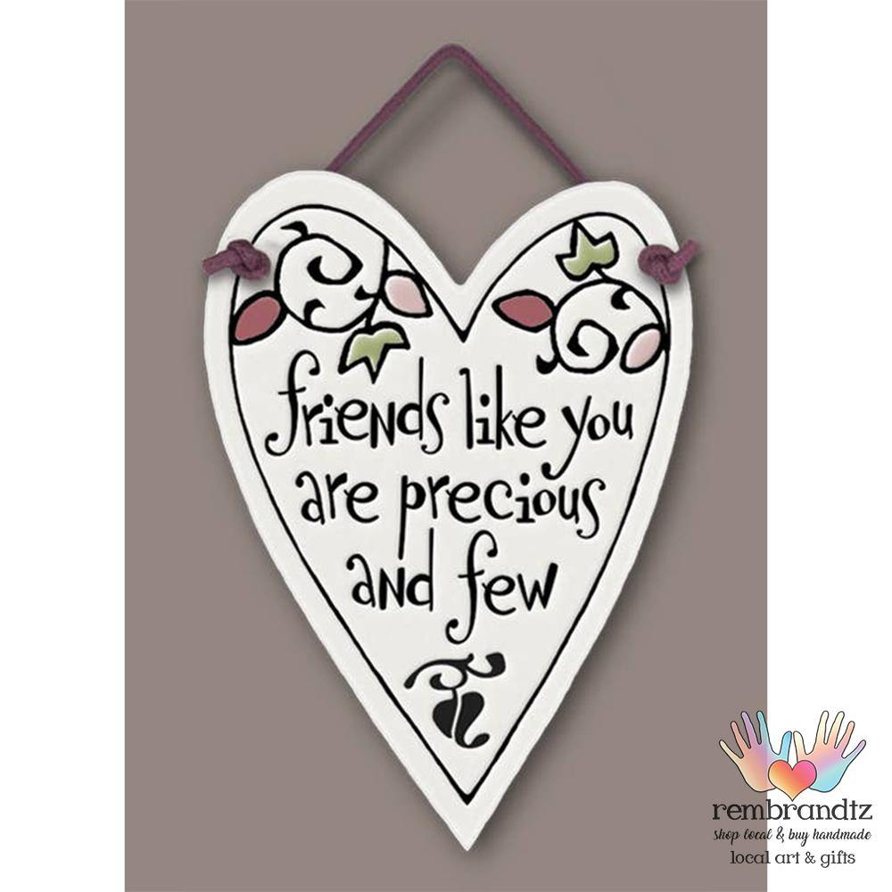 Friends Like You Heart Tile - Rembrandtz