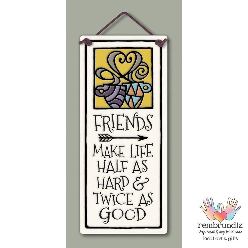 Friends Art Tile - Rembrandtz