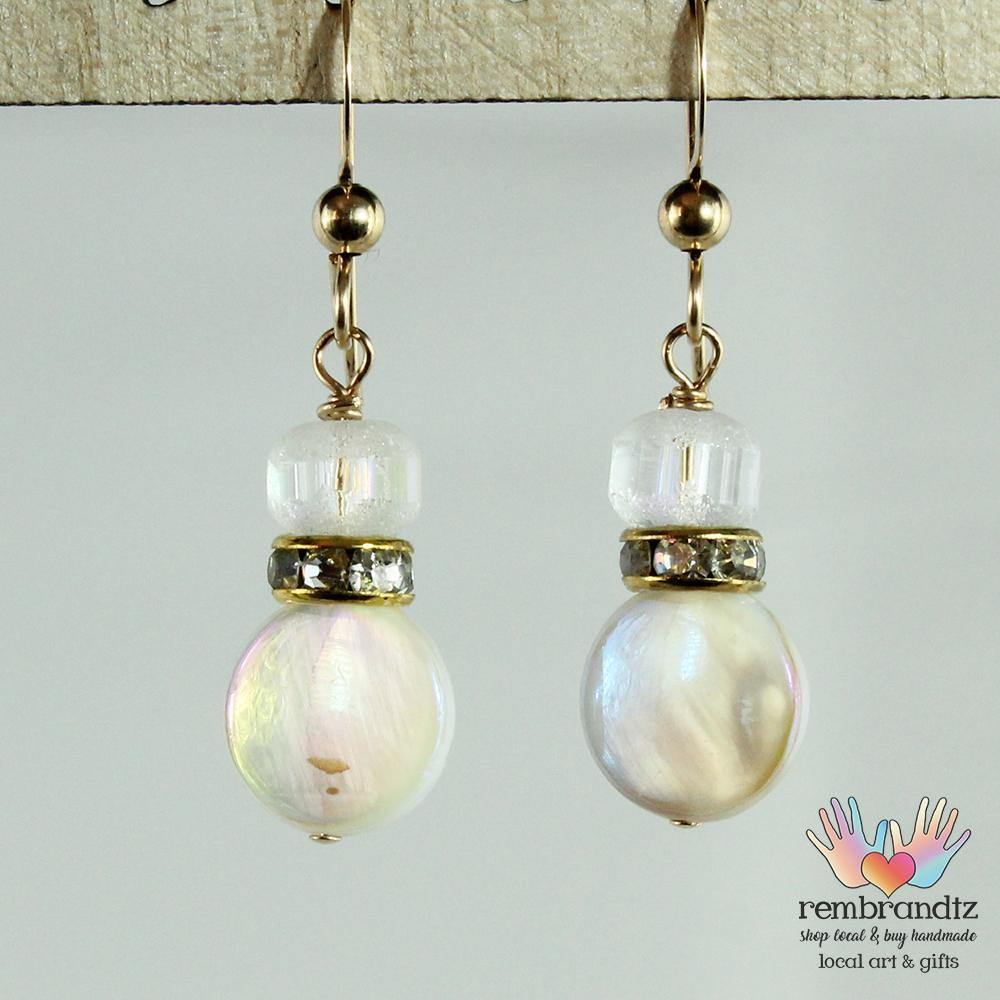 Earrings Oyster Shell I - Rembrandtz