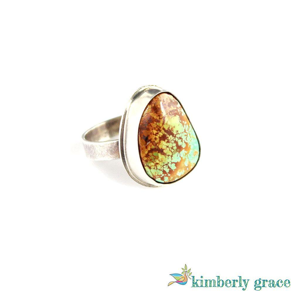 Ring Sterling and Turquoise I - Rembrandtz