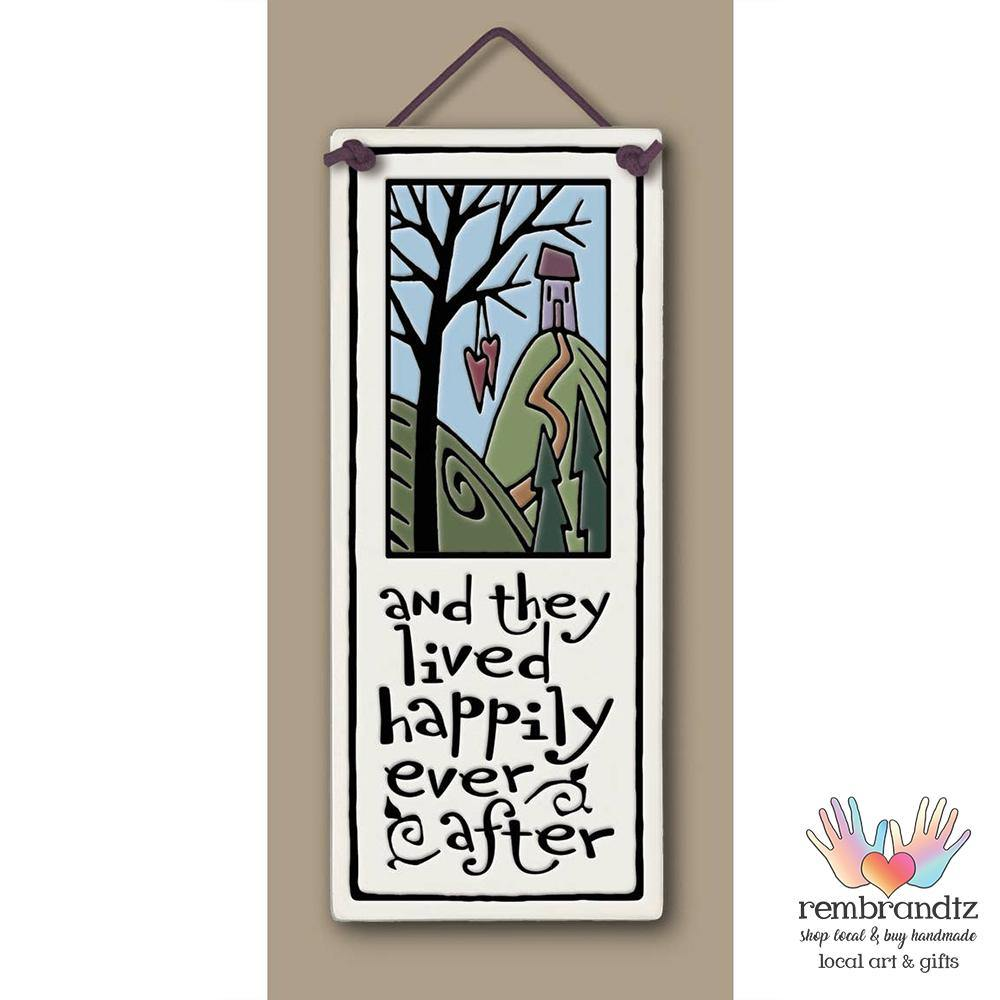 Happily Ever After Art Tile - Rembrandtz