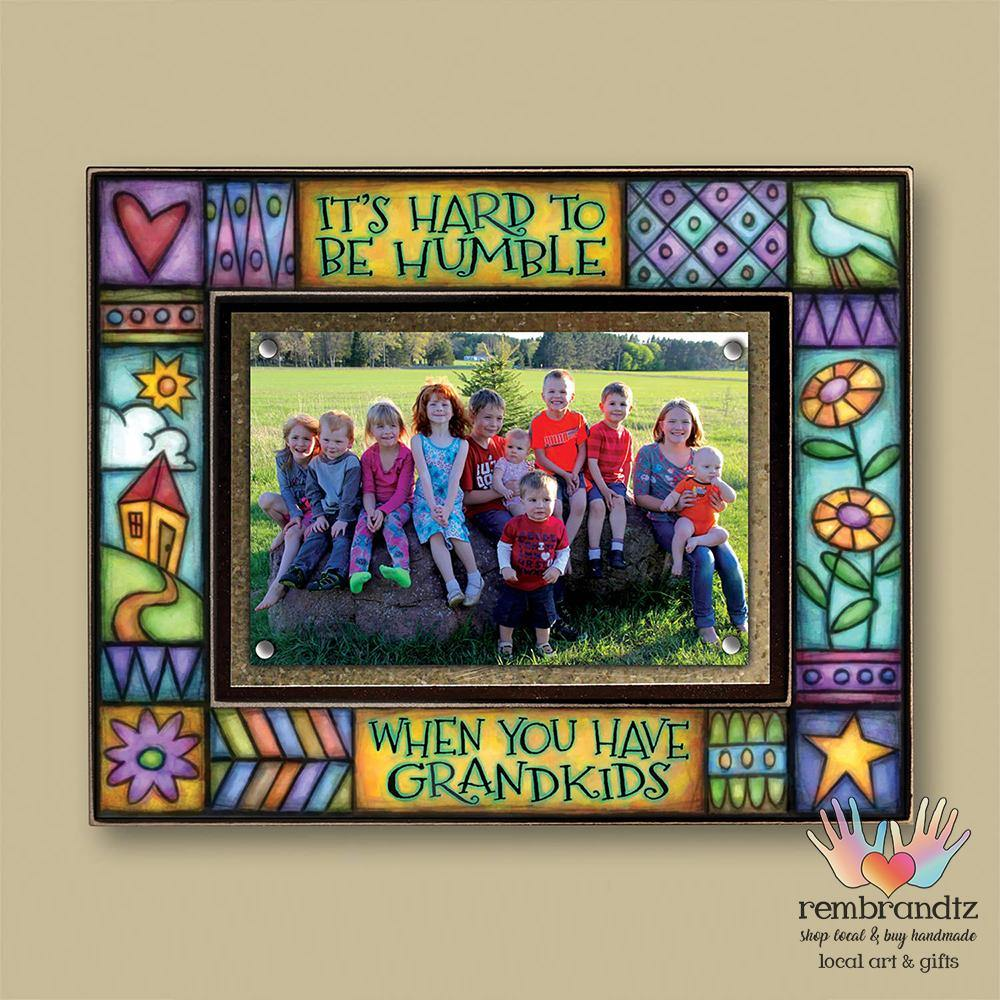 Grandkids Archival Magnetic Picture Frame - Rembrandtz