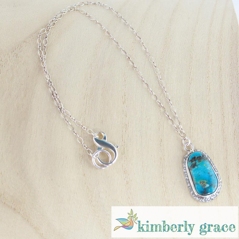 Necklace Sterling Turquoise - Rembrandtz