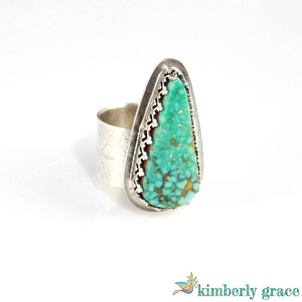Ring Sterling and Turquoise II - Rembrandtz