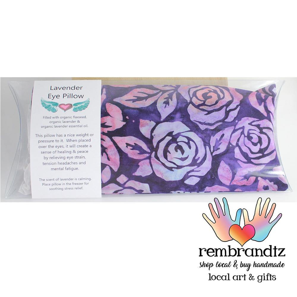 Lavender Filled Batik Eye Pillow - Rembrandtz