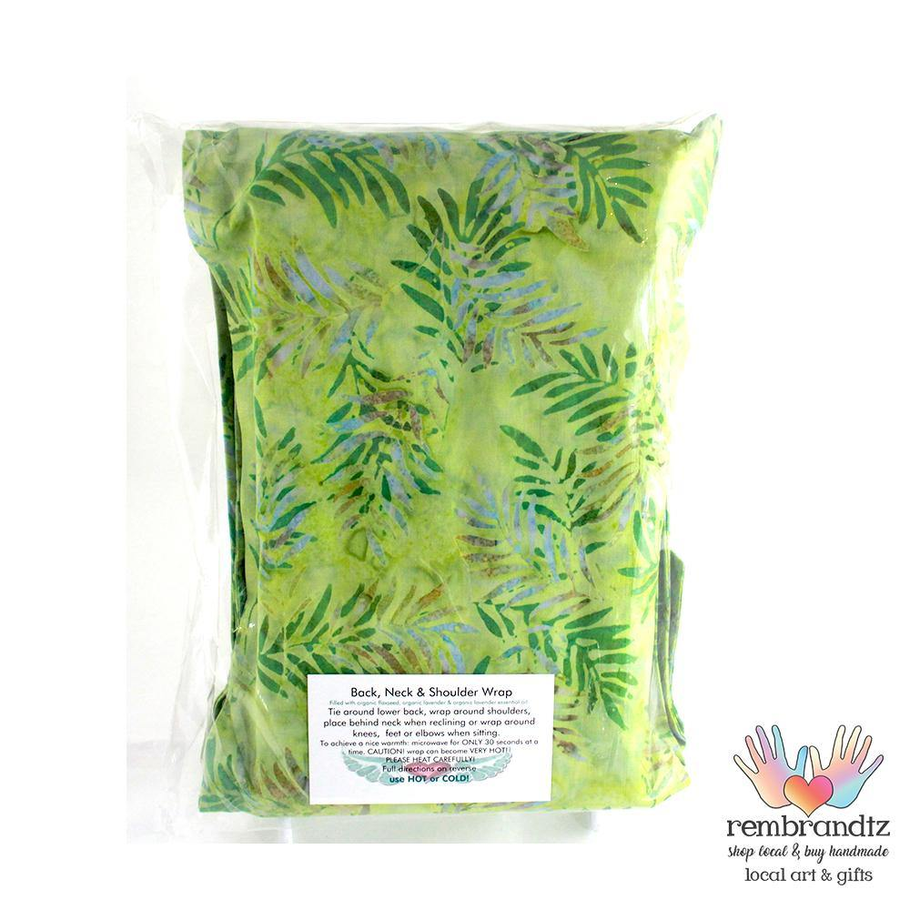 Lavender Filled Batik Herbal Therapy Healing Wrap - Rembrandtz