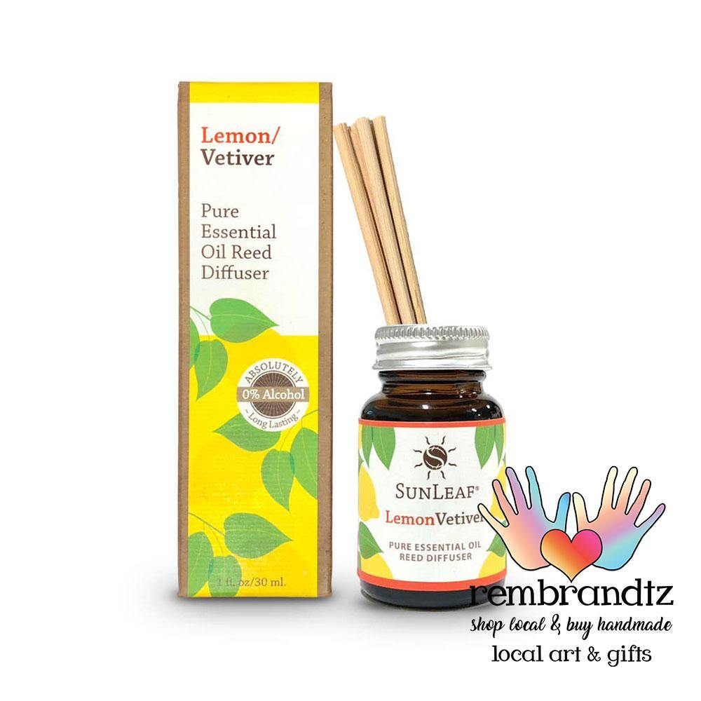Lemon Vetiver Reed Diffuser Small - Rembrandtz