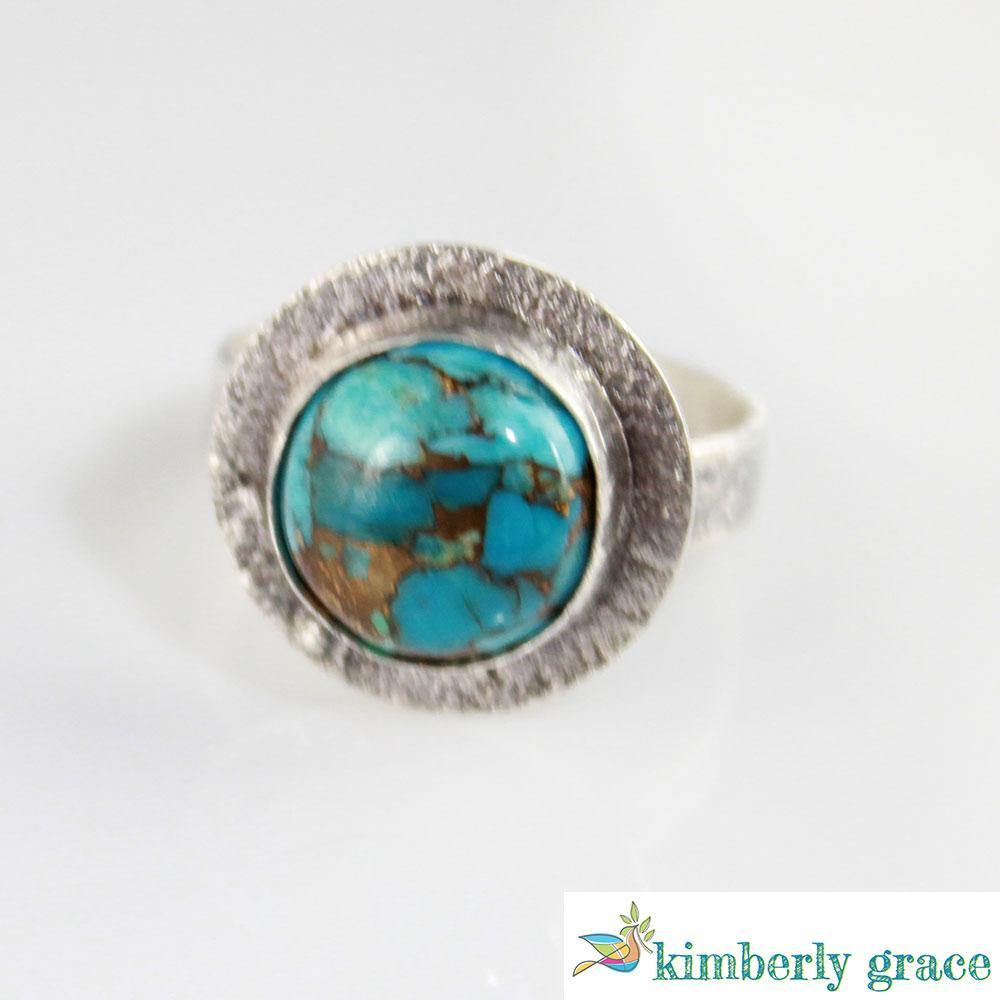 Ring Sterling and Turquoise III - Rembrandtz