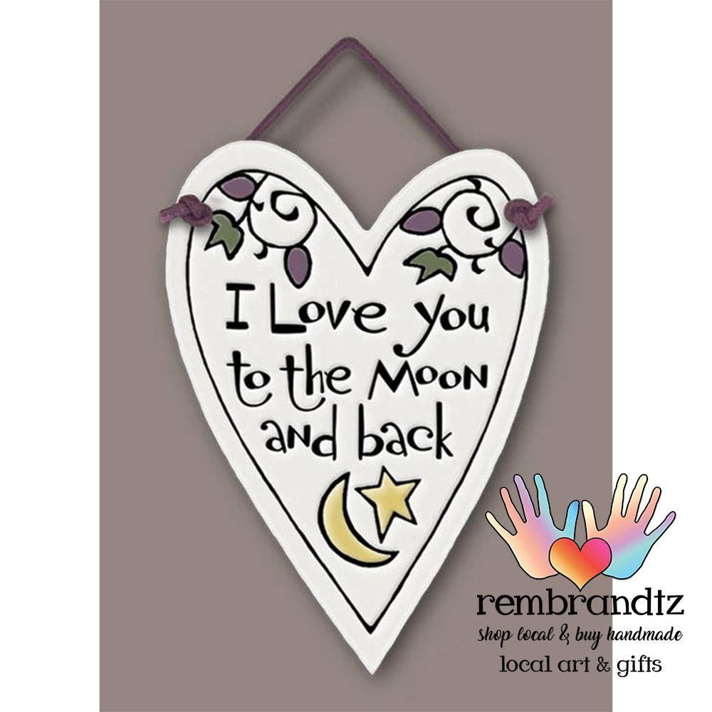 Moon & Back Heart Tile - Rembrandtz