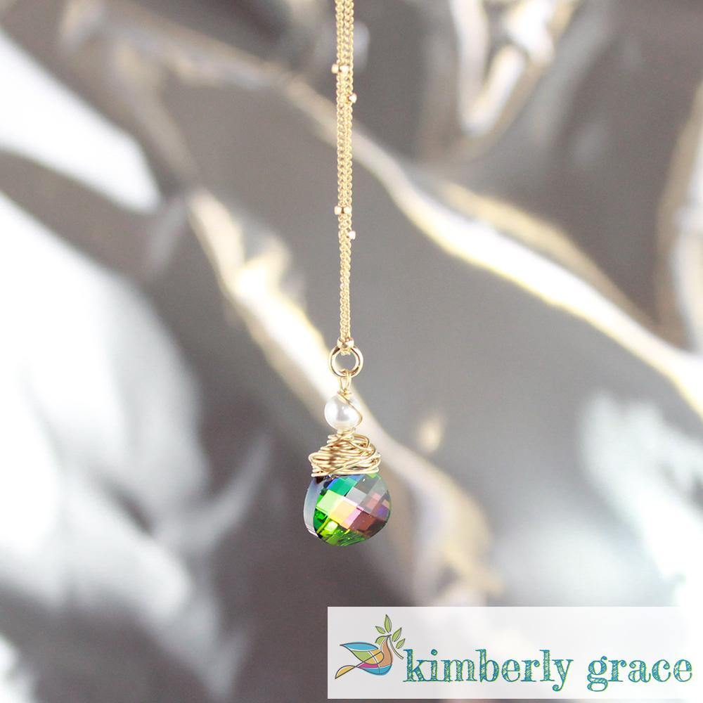 Necklace Rainbow Gold Filled - Rembrandtz