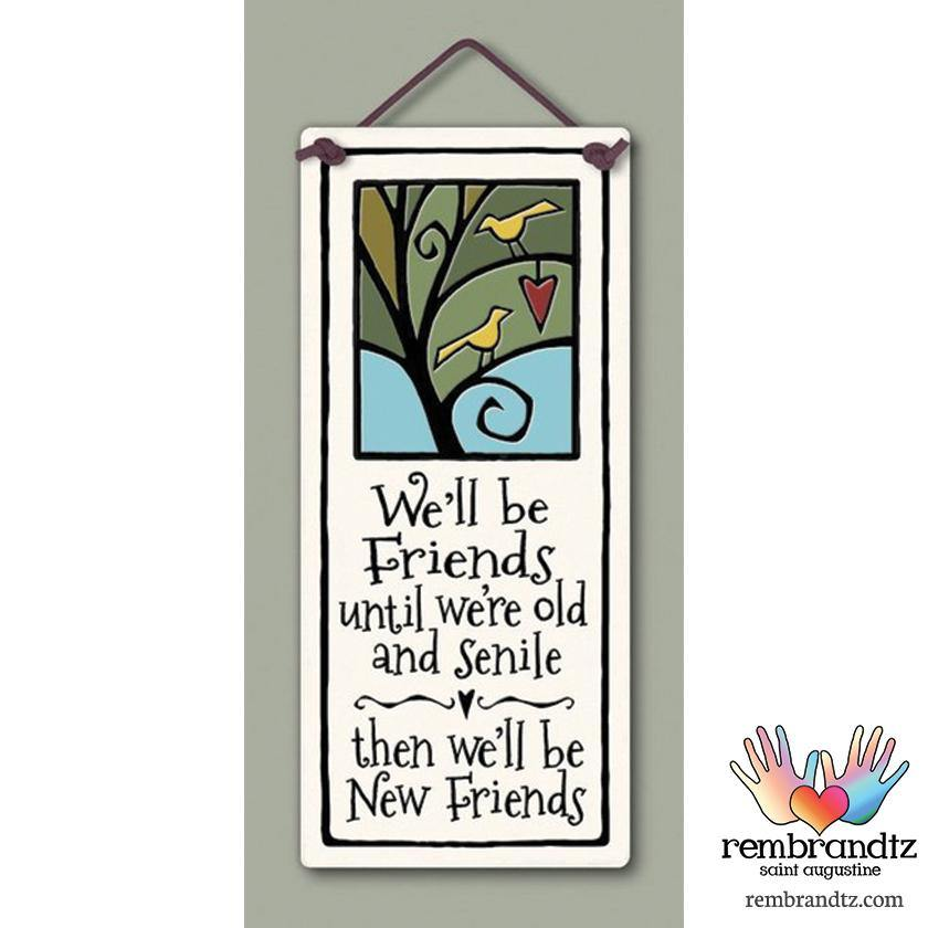 New Friends Art Tile - Rembrandtz
