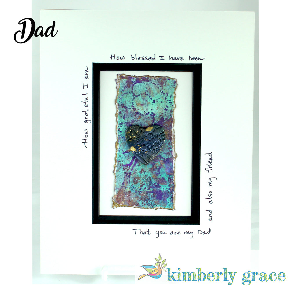 Blessed Dad Wall Art