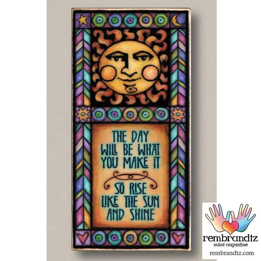 Rise Like The Sun Archival Art - Rembrandtz