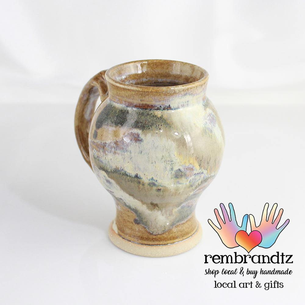 Small Pottery Mugs - Rembrandtz
