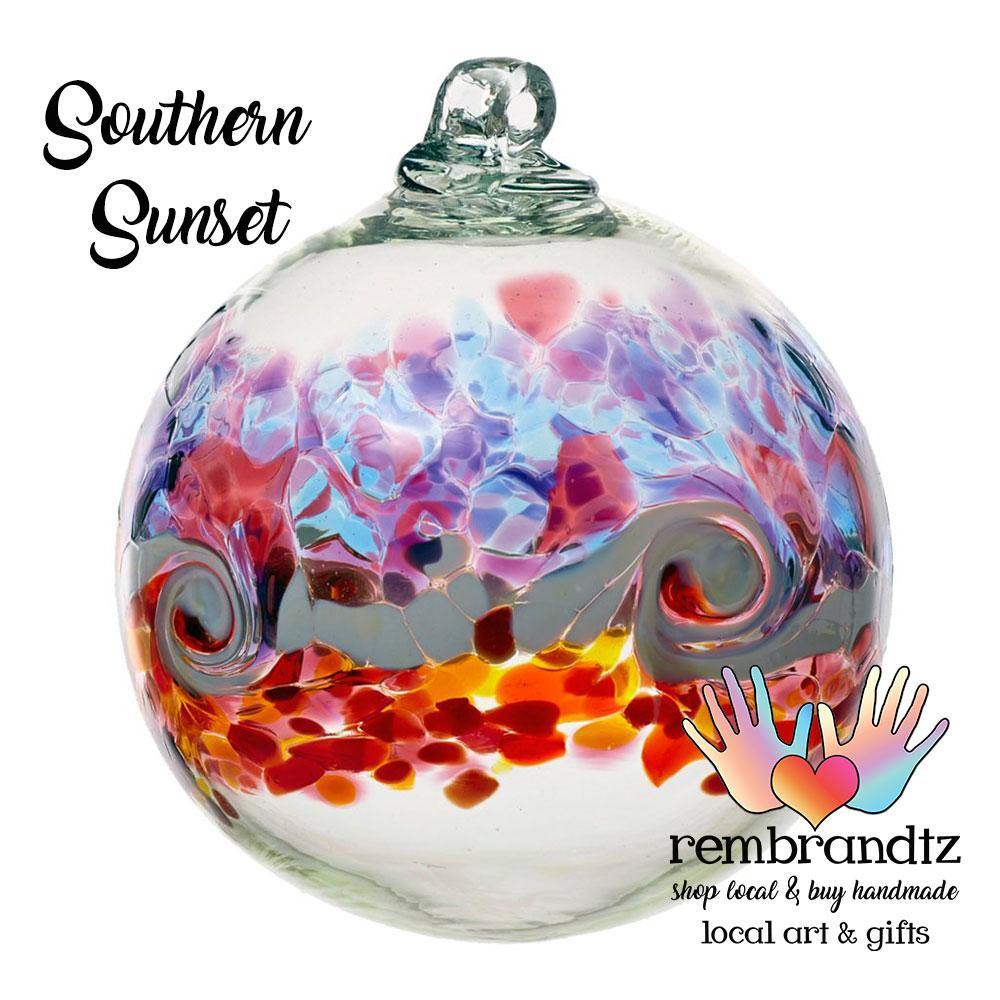 Southern Sunset Color Wave Globe - Rembrandtz