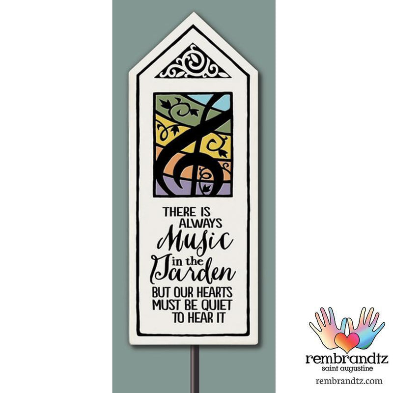 Always Music Garden Stake