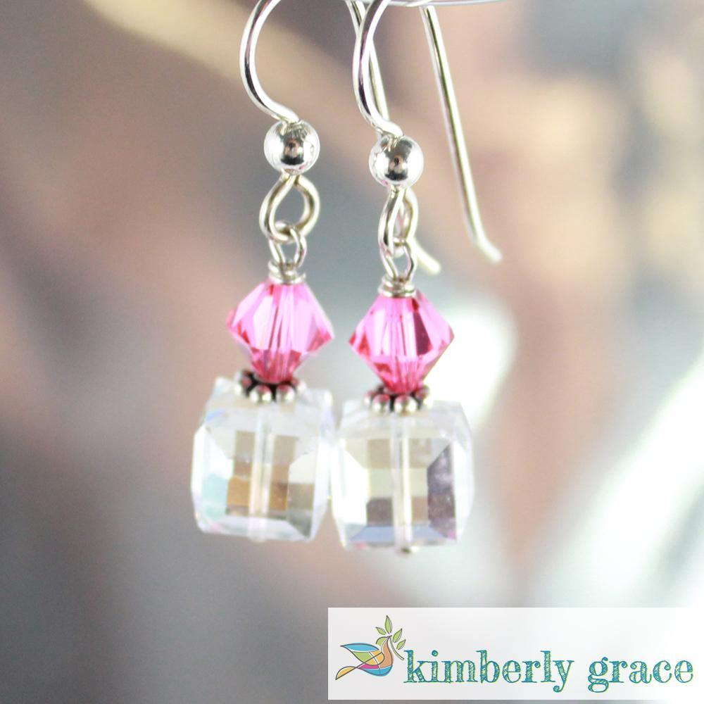 Earrings Coral Pink - Rembrandtz