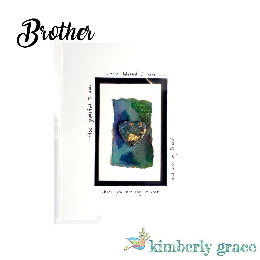 Blessed Brother Wall Art - Rembrandtz