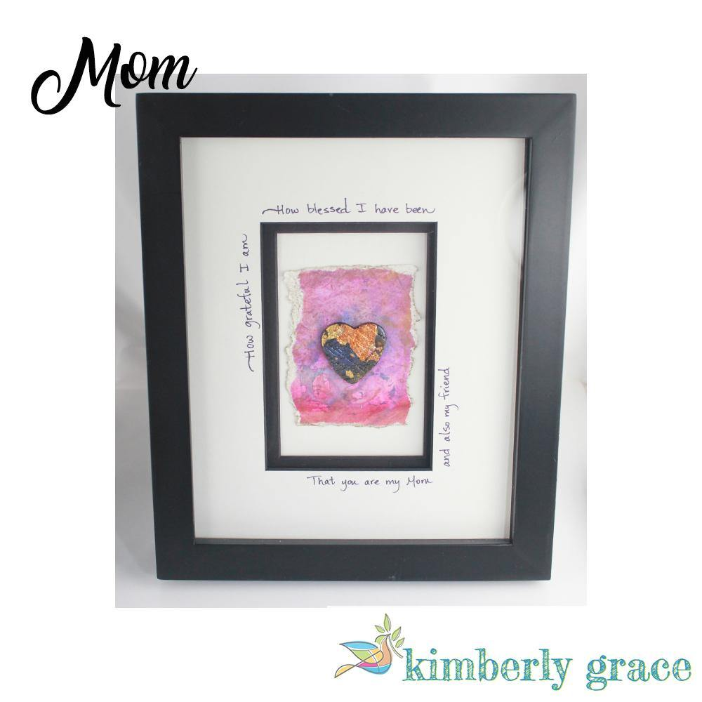 Blessed Mom Wall Art Framed - Rembrandtz