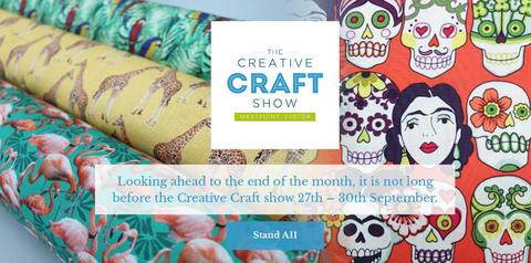 Top Tips for the Creative Craft show in Exeter