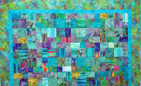 Batik Inspired Quilting by Lea Louise