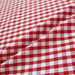 Home Furnishing Red Gingham