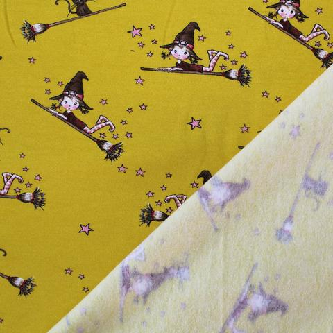 Halloween witch fabric