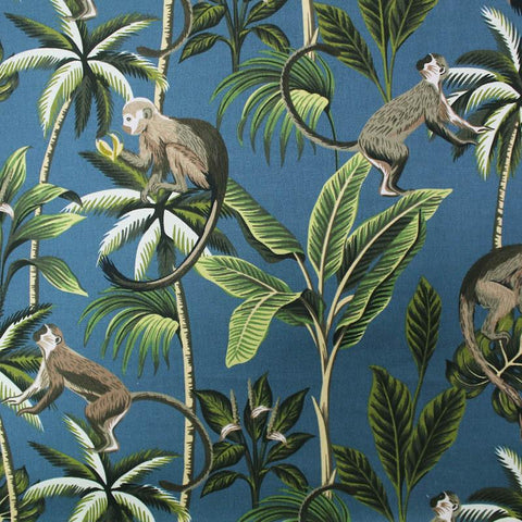 tropical print fabric