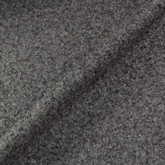 Charcoal boucle fabric