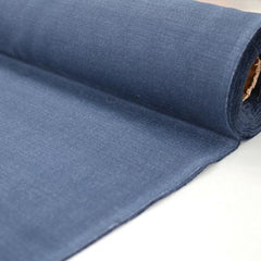 Blue cotton panama for dungarees