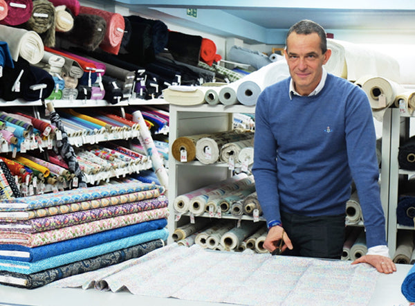 Paul Johnston | Owner of Fabrics Galore, Battersea London