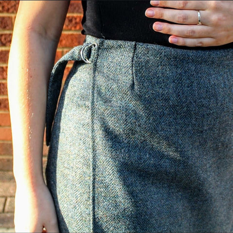 wool fabric trousers