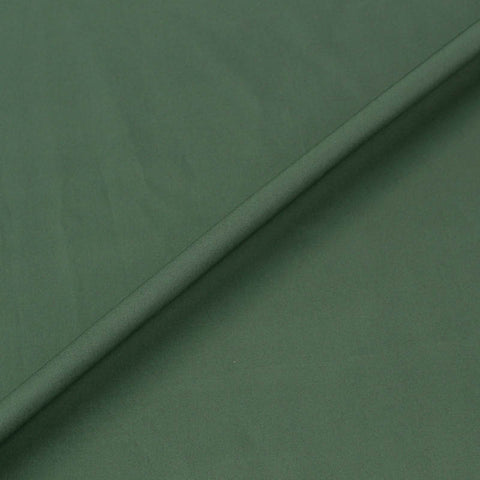 Plain Green Cotton Poplin - Bottle