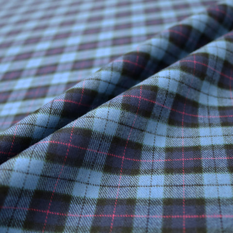 Brushed Cotton Tartan - Orkney