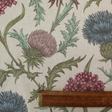 Muted Large Thistle Home Furnishing Fabric