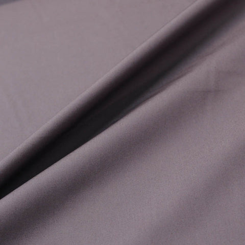 Plain Purple Cotton Poplin - Aubergine