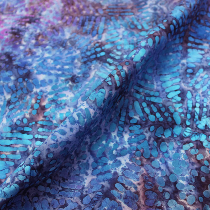Batik Cotton - Iron Butterfly - Blues