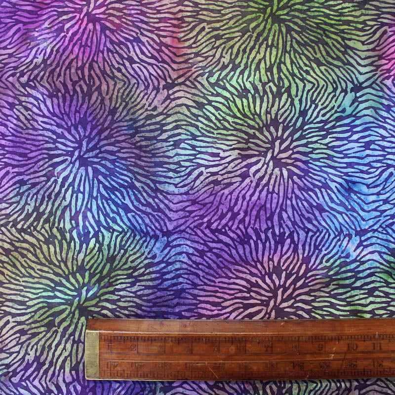 Batik Cotton - The Flaming Lips - Purple