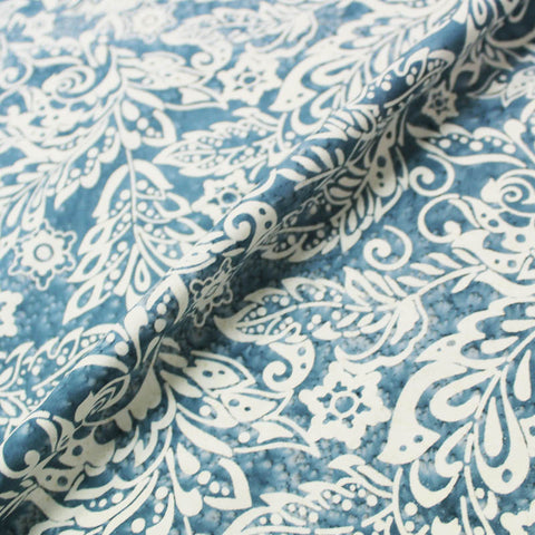 Batik Cotton - The Seeds - Greyish Blues