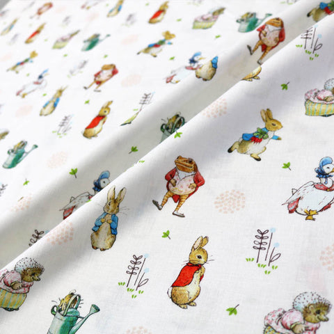 Peter Rabbit and Friends Cotton