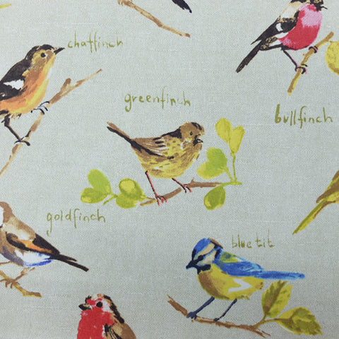 Garden Birds Home Furnishing Fabric