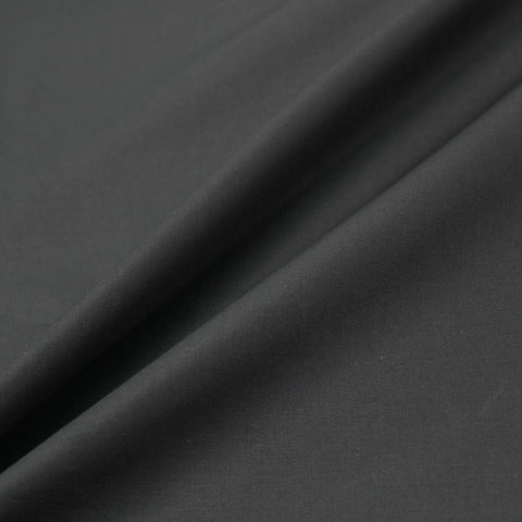 Plain 100% Cotton Poplin - Black