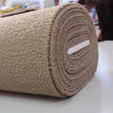Boucle Coating Fabric - Teddy Taupe
