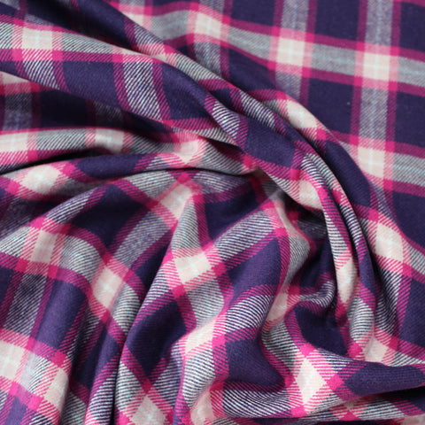 Brushed Cotton Flannel - Lady Penelope - Pink