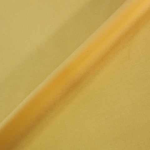 Home Furnishing Fabric Brushed Panama Weave - Butter Yellow